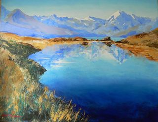 'Aoraki Mt Cook' by George Thompson