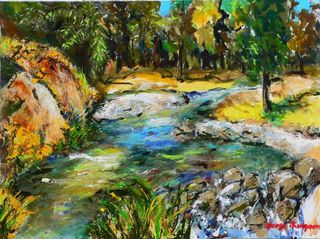 'The Valley Stream' by George Thompson (SOLD)