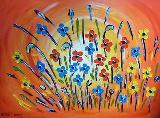 'Autumn Flowers No 5' by Vincent Duncan