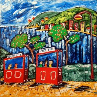 'Crazy Cable Cars No 3' by Vincent Duncan