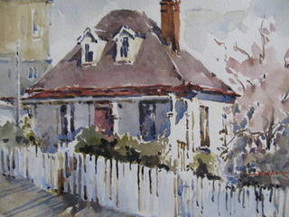 'Nairn Cottage' by Dianne Taylor