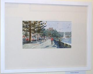 'Bike on the Bay' by Dianne Taylor (SOLD)