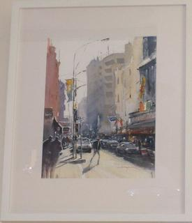 'Featherston St' by Dianne Taylor(SOLD)
