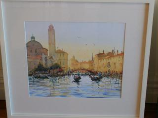'Grand Canal' by Dianne Taylor (SOLD)