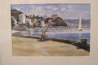 'Oriental Bay' by Dianne Taylor (SOLD)