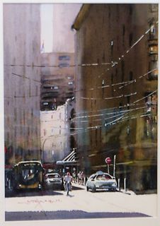 'Hunter St' by Dianne Taylor (SOLD)