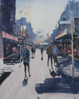 'Cuba Mall 2' by Dianne Taylor (SOLD)