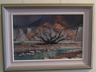 Awatere River Bed by Brian Badcock (SOLD)