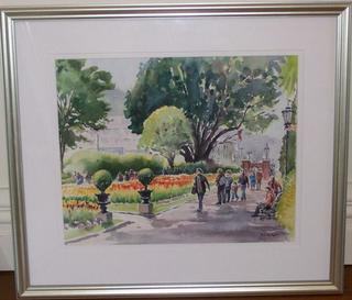 CHRISTCHURCH RELIEF AUCTION PAINTING (SOLD)
