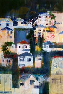 'Wellington Houses 4' by Rob McGregor (SOLD)
