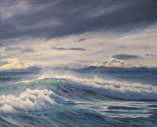 'Sea Surge' by Sam Earp (SOLD)