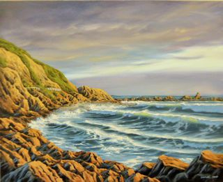 'Houghton Bay No 2' by Sam Earp