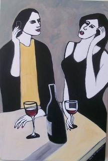 'Chat over Wine' by Rob McGregor