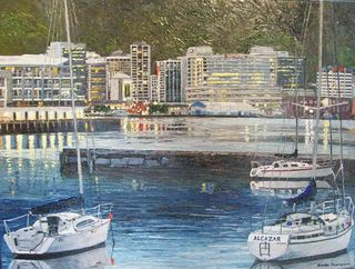 'Yachts Port Nicholson' from Ronda Thompson
