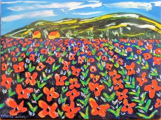 'The Poppy Fields' by Vincent Duncan