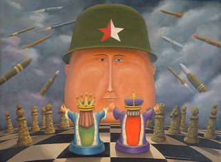 'Chess Not War' by Bruce Luxford