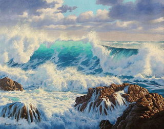 'Cook Strait' by Sam Earp (SOLD)