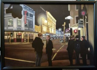 'Cuba St Shadows' by Melissa McDougall (SOLD)