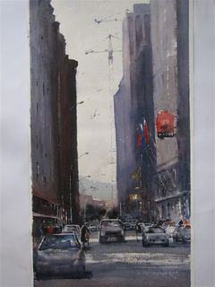 'Featherston St' by Dianne Taylor (SOLD)