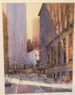 'Hunter St 2' by Dianne Taylor (SOLD)