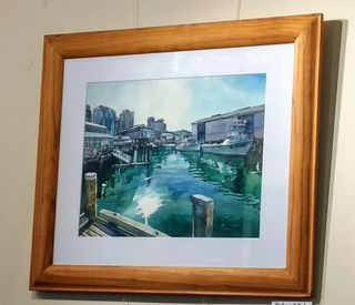 'Queens Wharf' by Joy de Geus