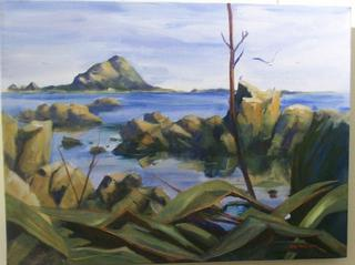 'Island Bay' by Jan Thompson (SOLD)
