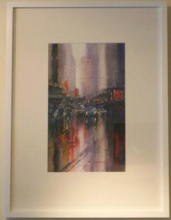 'Lambton Quay' by Dianne Taylor (SOLD)
