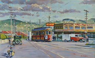 'Miramar Junction 1953' by Phil Dickson (SOLD)