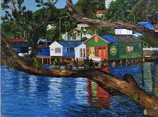 'Evans Bay' by Ronda Thompson (SOLD)