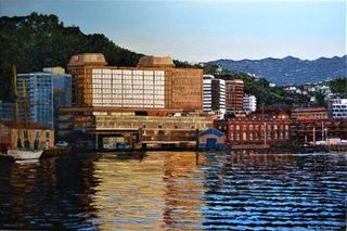 'Wellington Morning' by Ronda Thompson (SOLD)