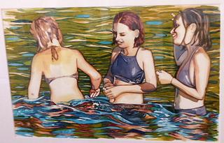 'Summer Fun' by Joy de Geus (SOLD)