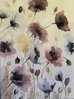 'Poppies 2' by Dianne Taylor (SOLD)