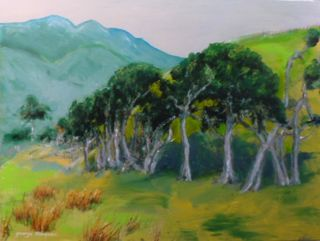 'Coastal Pasture Herbertville' by George Thompson