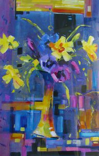 'Spring has Sprung' by Dianne Taylor (SOLD)