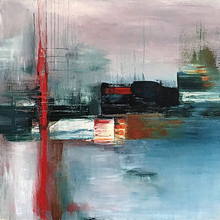 'Tidal Shift 01' by Claudia Grutke (SOLD)