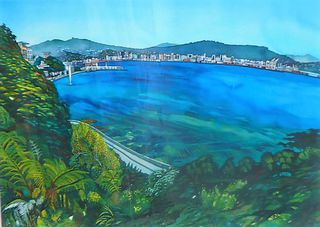 'View from Roseneath' by Joy de Geus (SOLD)