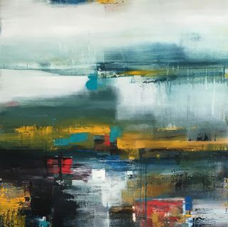'Winter Light 01' by Claudia Grutke (SOLD)