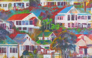 'Hillside Houses' by Rob McGregor