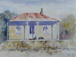 'Railway Houses Masterton' by Jan Thomson