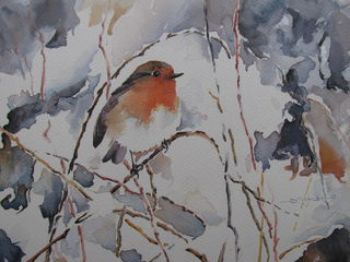 'Tweet 2' by Dianne Taylor (SOLD)