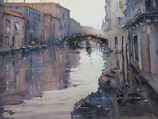'A Canal in Venice' by Dianne Taylor