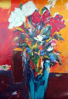 'Roses from my Garden' by Peter Augustin