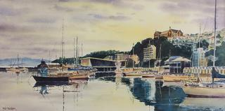 'After the Rain Clyde Quay Marina' by Phil Dickson (SOLD)