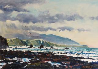 'Morning on the South Coast' by Phil Dickson (SOLD)