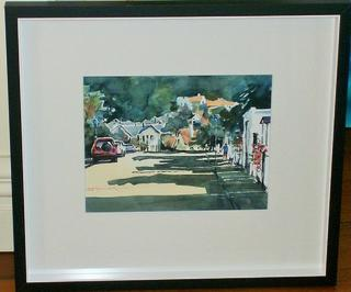 'Hobson St Thorndon' by Dianne Taylor (SOLD)