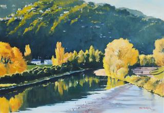 'Autumn Hutt River' by Phil Dickson