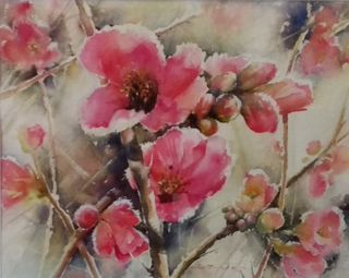 'A Touch of Frost - Quince' by Dianne Taylor