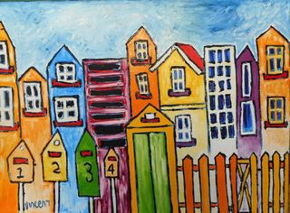 'City Streets' by Vincent Duncan (SOLD)