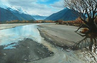 'Dart River Glenorchy' by Graham Moeller