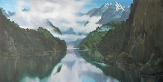 'Fiordland' by Graham Moeller (SOLD)